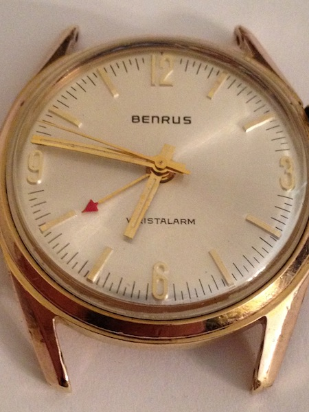 1960's Benrus Alarm Watch (Twin)