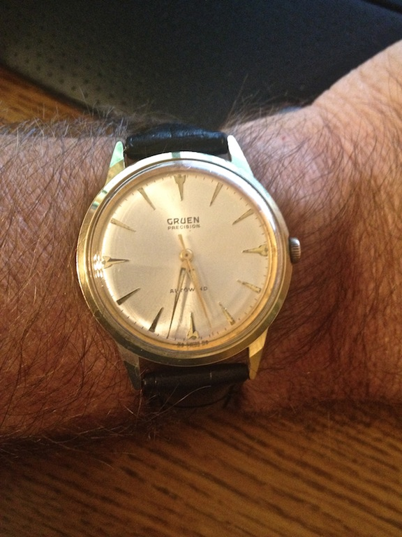 Gruen Precision Early 1960's with Automatic Swiss Movement