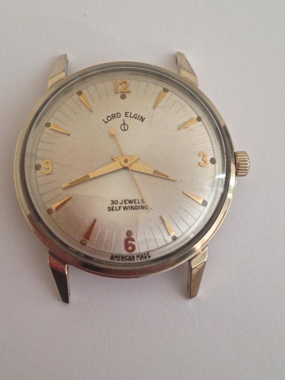 Lord Elgin 30 Jewel American Made Automatic Movement
