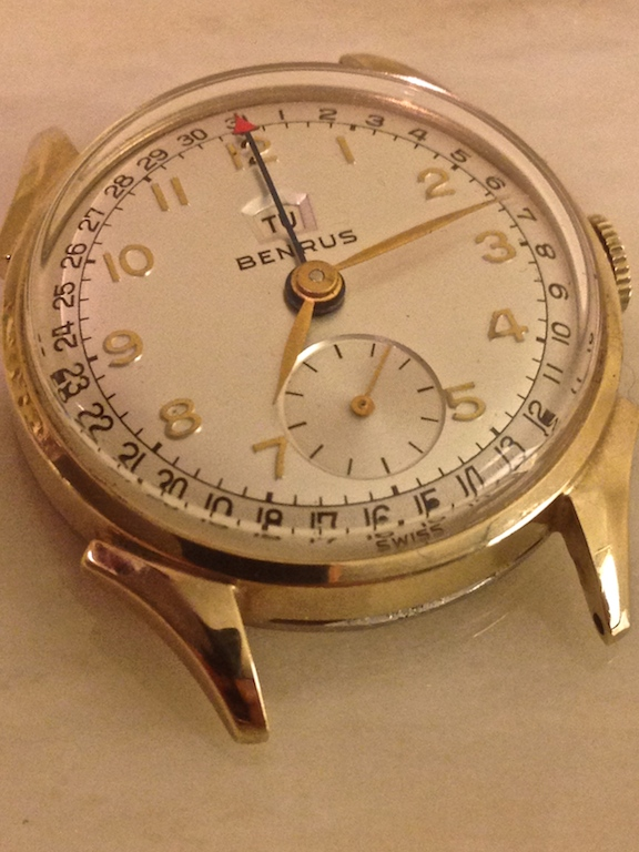 Benrus 1950's Calendar Watch