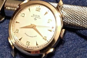 1954 Elgin Seaward Self-Winding Watch