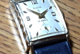 "Elgin 19 Jewels, Case 9528 ""Harper"" (sold)"