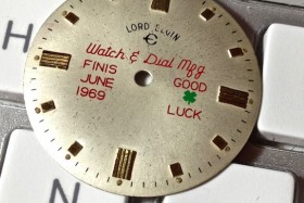 Last Dials Out of the Elgin Factory