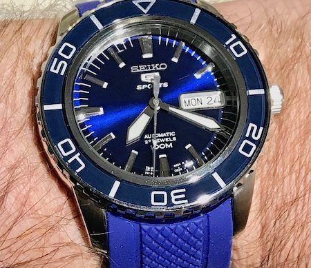 "Seiko ""Fifty Fathoms"" Dive Watch"
