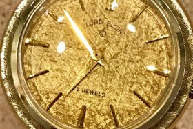 Early 1960s Lord Elgin Bahama in Yellow Gold