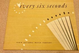 Every six seconds….