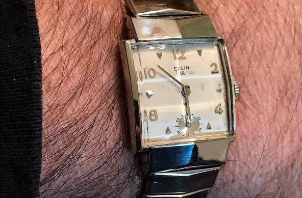 1954 Elgin Crusdaer in White Gold